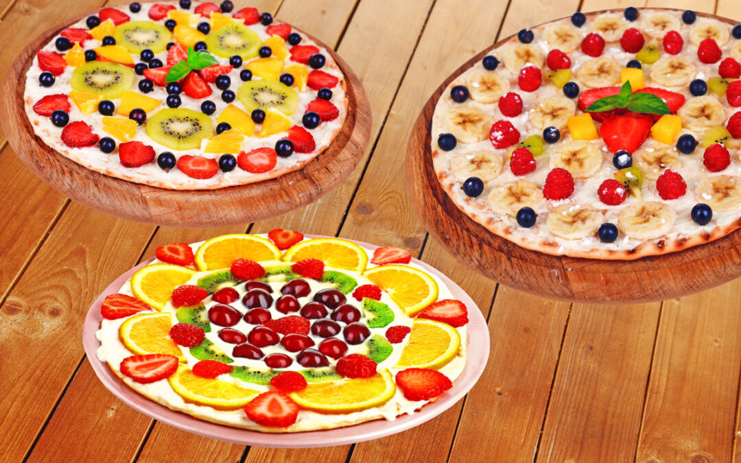 The Stork Bag Recipes: Yummy and Colorful Fruit Pizza